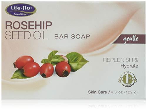 Life-Flo Rosehip Seed Bar Soap, 4.3 Ounce