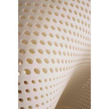 "2"" Plush Talalay Latex Topper Mattress Pad - 100% Natural Latex - Queen"