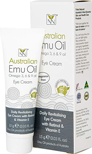 Y-Not Natural Anti Aging Eye Cream with Australian Emu, Retinol, and Vitamin E