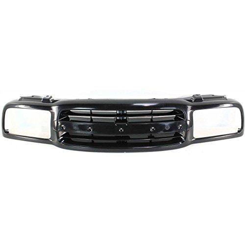 (Grille for Chevrolet Tracker 99-04 Black)