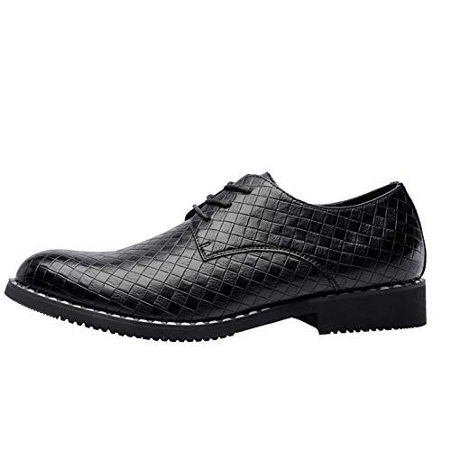 uomo per qualità Trend Sport alta Scarpe Intrecciato Dress Marrone Business in pelle di Singles tqFwnE4CxU