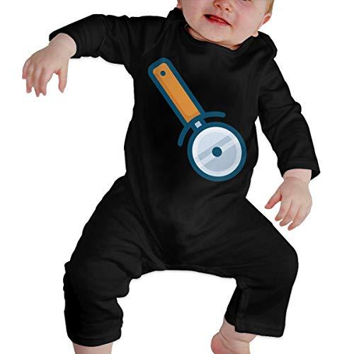 Price comparison product image Pizza Cutter Newborn Baby Long Sleeve Bodysuit Bodysuits
