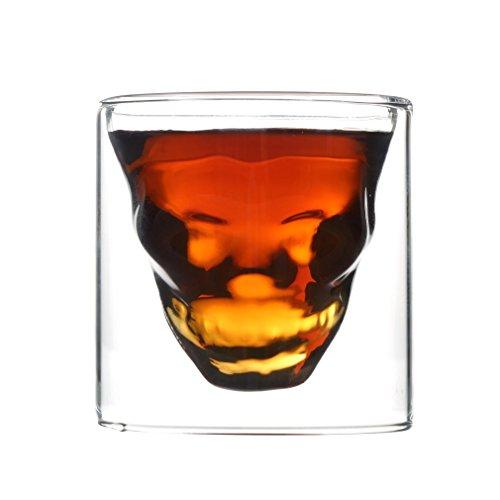 Doomed skull shot glass Skull Head Vodka Shot Glass Party halloween