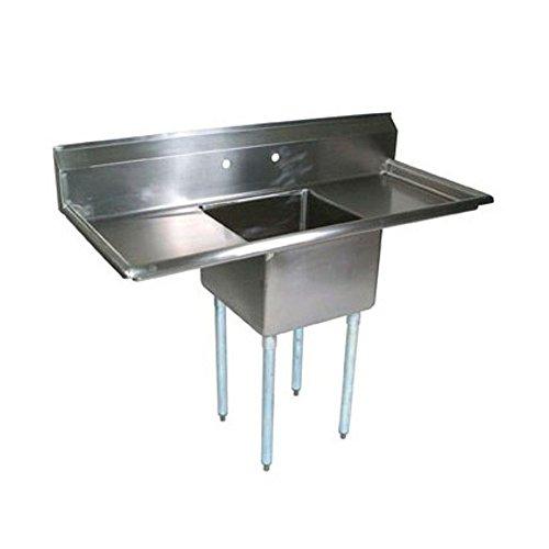 John Boos E1S8-1824-14T24 E-Series Single Compartment Sink 18