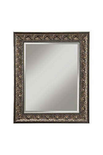 "Sandberg Furniture Andorra Wall Mirror, 36"" x 30"", Cognac Ash"