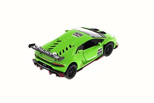 lamborghini huracan lp620 2 super trofeo green kinsmart 5389d 1 36 scale diecast model toy. Black Bedroom Furniture Sets. Home Design Ideas