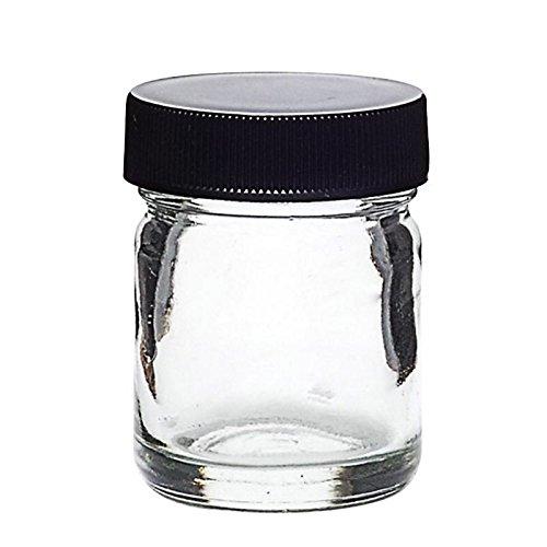 - DabJars : 3 piece glass jar set - 1 oz (30 ml) 2