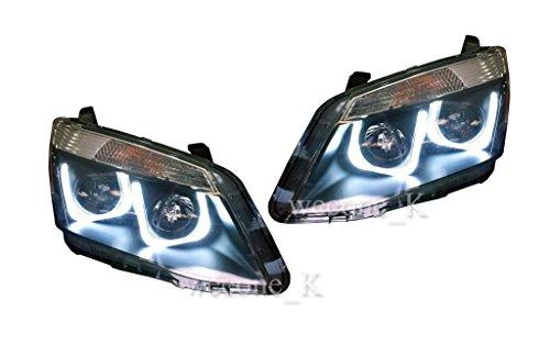 Front Projector Headlight Lamp Projector Neon Line Isuzu D-max Dmax 2012 2013 2014 2015 Pickup