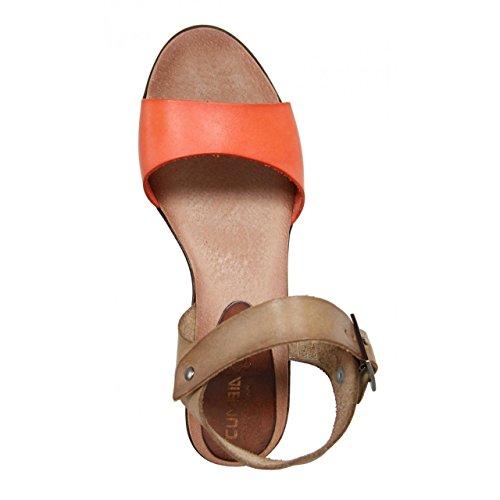 Chaussures compensées pour Femme CUMBIA 20232 CORAL-TOSTADO
