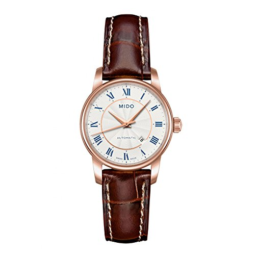 MIDO Women's Automatic Watch Baroncelli M76002218 with Leather Strap