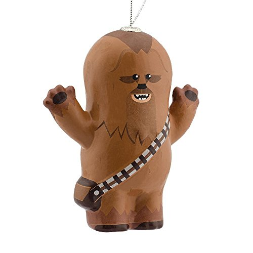Hallmark Disney/Lucas Films Star Wars Chewbacca Decoupage Ornament -