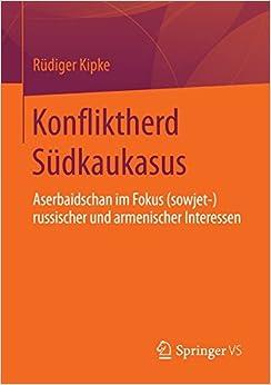 Book Konfliktherd Südkaukasus