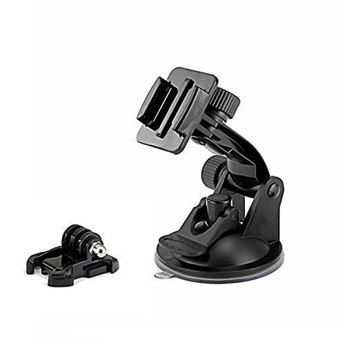 SHOOT Windshield Suction Cup Mount for GoPro Hero 5 4 3+ 3 2 1 with 7cm Diameter Base