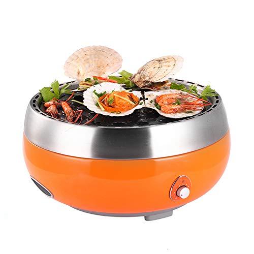 Jenify Homping Grill, Máquina De Barbacoa Hogar Fumadores Charcoar Grill Carbón Parrilla Grande Al Aire Libre Portátil