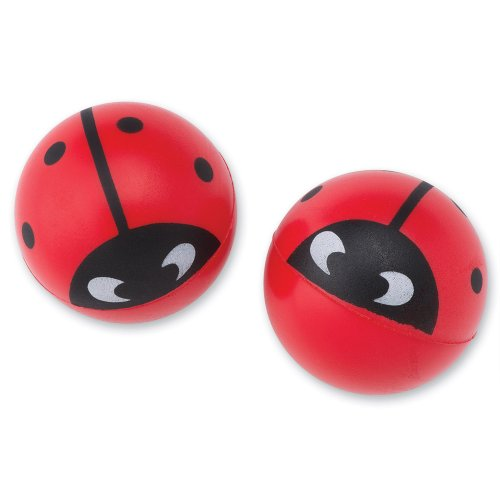 SmileMakers Ladybug Stress Balls - 24 per Pack ()