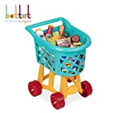 Battat Grocery Cart - Deluxe Toy Shopping Cart with Pretend Play Food Accessories for Kids 3+ (23Piece)