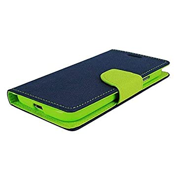 Verward Artificial Leather Flip Cover for Samsung Galaxy A30  Blue,Green  Cases   Covers