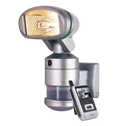Camtronics PIR Buho 20 Lámpara halógena de 120 W para Exterior, con Sensor de Movimiento