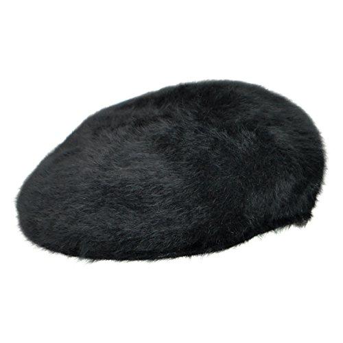 Kangol Men's Furgora 504 Cap, Classic Old School Street Style, Black (Large)