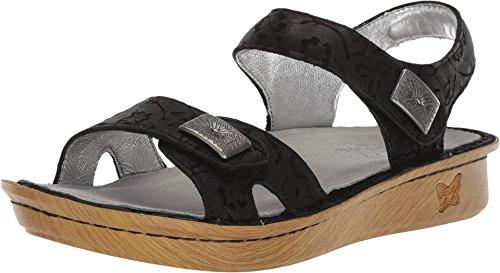 - Alegria Women's Vienna Sandal Morning Glory Black 40