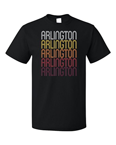 Arlington, VA | Retro, Vintage Style Virginia Pride T-shirt