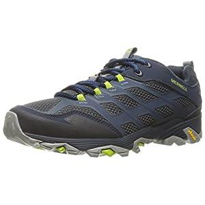 Merrell Men's Moab FST Hiking Shoe, Navy, 10 M US