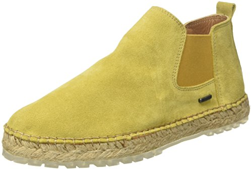 Yellow Damen Dark Boot Ankle Espadrilles Gelb Amsterdam Mustard Shabbies 8qpvRW