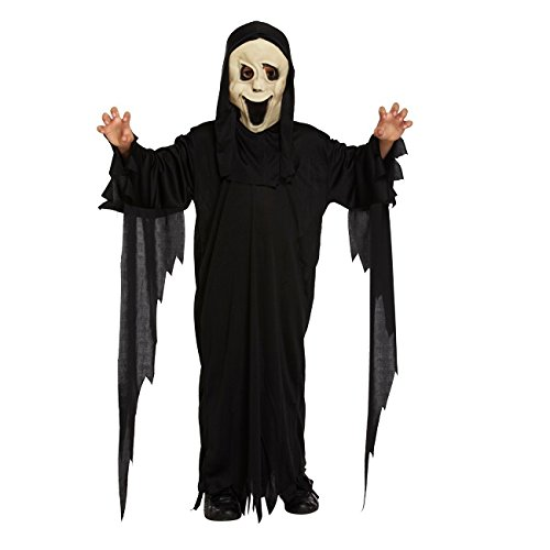 Demon Halloween Costumes (Dress Up Big Boys' Demon Ghost - Halloween Costume 10-12 Years Black)
