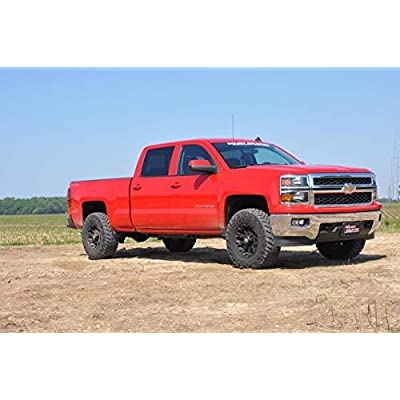 "Rough Country 1305 2.5"" Suspension Leveling Lift Kit (Factory Cast Steel Control Arm Models): Rough Country: Automotive"