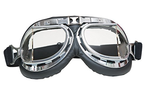 Furiosa Mad Max Costume (XCOSER MM4 Nux Goggles Gothic Glasses Costume Props with Adjustable Strap D)