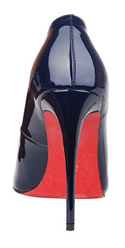 navy Pump6007 Queenfoot Patent B Femme Basses wHxzMqvfI