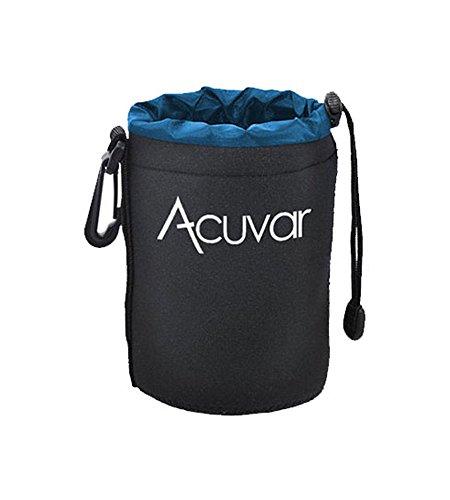 Acuvar Medium Neoprene  Soft Pouch For Canon, Sony, Pentax,