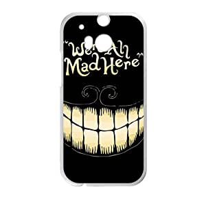 We Are All Mad Here Hot Seller Stylish Hard Case For HTC One M8