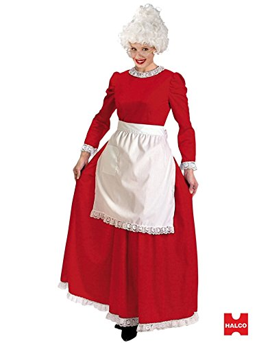 Mrs. Claus Christmas Charmer Costume (Medium - Dress Size 8-10) (Mrs Claus Plus)