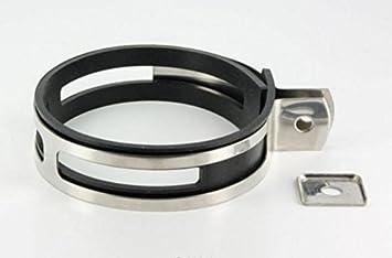 a0f79508a9ea2 Collier pour silencieux de pot d'échappement Ovale de 125 à 135mm ...