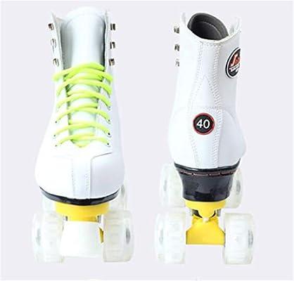 Patines De Doble Hilera Adulto Rodillos De Destello Zapatos De Patinaje De Velocidad En Las Cuatro Ruedas Deportes Juguetes para Montar Al Aire Libre