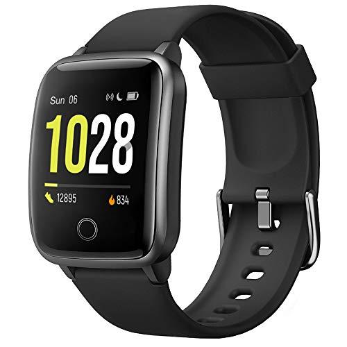 Willful Smartwatch,Pantalla de 1,3 Pulgadas Reloj Inteligente Impermeable IP68 con Pulsómetros para Mujer Hombre, Pulsera de Actividad Inteligente con Monitor de Sueño Contador de Caloría Cronógrafo a buen precio