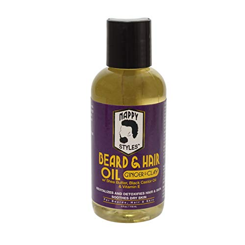Nappy Styles Beard Oil - Ginger & Clay ()