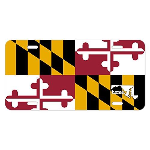 Maryland State Novelty Vanity License