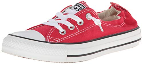 Converse Chuck Taylor All Star Shoreline Red Lace-Up Sneaker - 9 B(M) US (Women Red Converse)