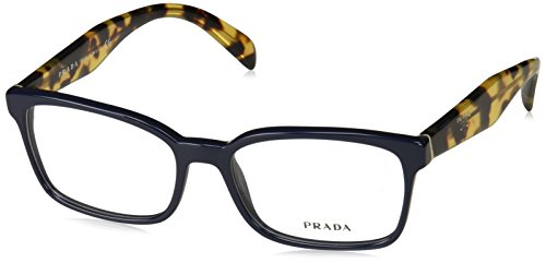 Prada Women's PR 18TV Eyeglasses Blue - Blue Glasses Prada
