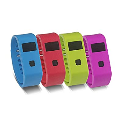 Digfuns (TM)New Bluetooth Smart Bracelet Smart Watch Ip67 Sync Sports Fitness Tracker Wireless Activity Wristband Sleep Tracker (Black)