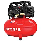 CRAFTSMAN Air Compressor, Oil-Free, 6 Gallon Pancake with 13-Piece Accessory Kit (CMEC6150K)