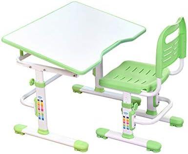Skiout Juego de Escritorio y Silla de Madera para niños, Altura ...