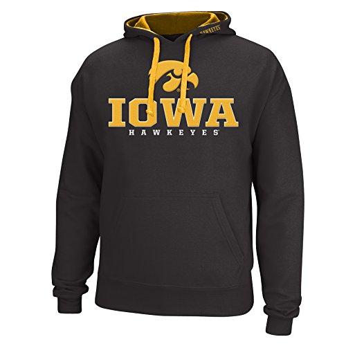 NCAA Iowa Hawkeyes Men's Logo School Name Foundation Hoodie, Medium, - Mens Name Of