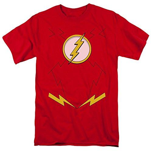 Cw Firestorm Costume (Dc Comics Flash Costume Adult Superhero T Shirt Tee)