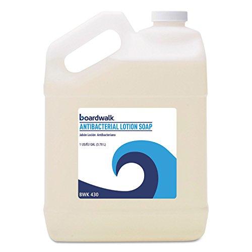 - Boardwalk Antibacterial Liquid Soap, Floral Balsam, 1gal Bottle