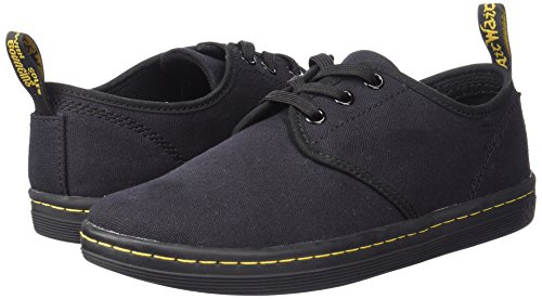 Pictures of Dr. Martens Women's Soho Shoe Cherry Red Canvas 8 UK US Women 4