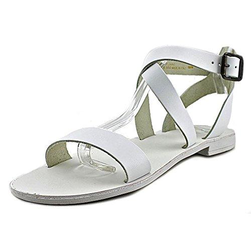 Dune London Women's Lotti Gladiator Sandal, White, 7 M (Dune Shoes)