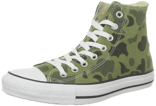 Cam Mixte Print Adulte vert Vert Baskets Mode Chuck All Hi Taylor Converse Star Camo qwIzX4g